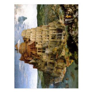Carte Postale Bruegel D. ?. , Tour de Babel de zu de Pieter