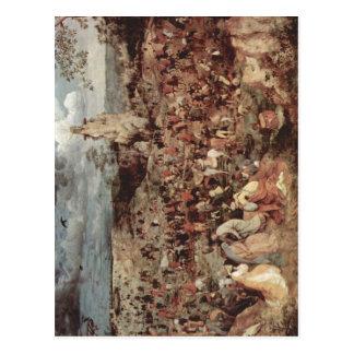Carte Postale Bruegel D. ?. , Zum Kalvarienberg P de Pieter