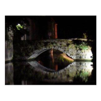Carte Postale Bruges la nuit