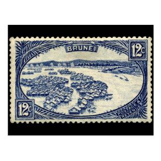 Carte Postale Brunei stamp 1924