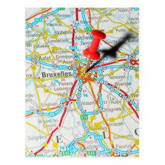 Carte Postale Bruxelles, Bruxelles, Bruxelles en Belgique