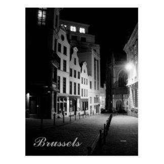 Carte Postale Bruxelles par nuit