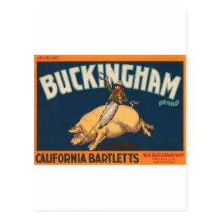 Carte Postale Buckingham