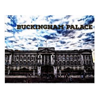 Carte Postale Buckingham Palace Londres, Angleterre Royaume-Uni