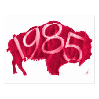 Carte Postale Buffalo rouge de Hester