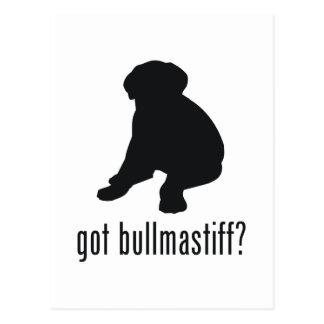 Carte Postale Bullmastiff