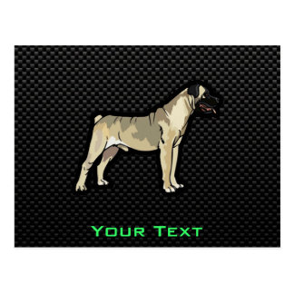 Carte Postale Bullmastiff lisse