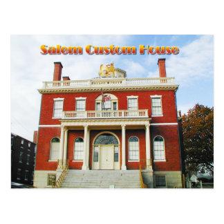 Carte Postale Bureau de douane, Salem, le Massachusetts
