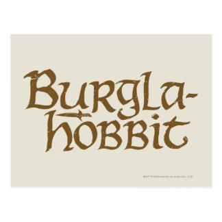 Carte Postale Burgla Hobbit