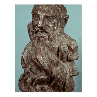 Carte Postale Buste d'Auguste Rodin 1909