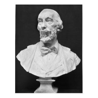 Carte Postale Buste d'Auguste Vacquerie