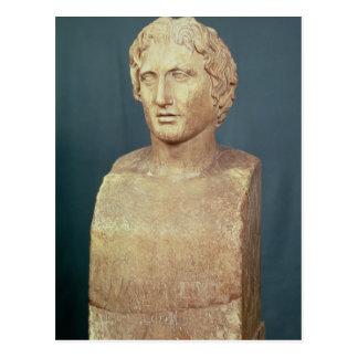 Carte Postale Buste de portrait d'Alexandre le grand