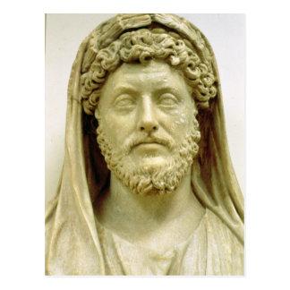 Carte Postale Buste de portrait de Marcus Aurelius