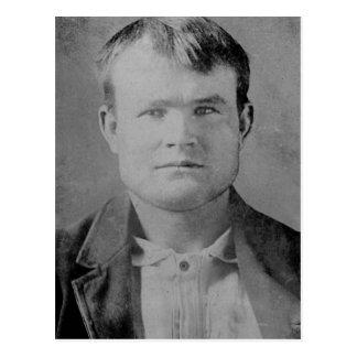 Carte Postale Butch Cassidy