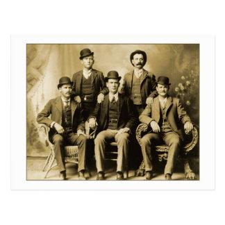 Carte Postale Butch Cassidy et le groupe sauvage