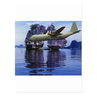 Carte Postale C-130 quelque part dans le South Pacific