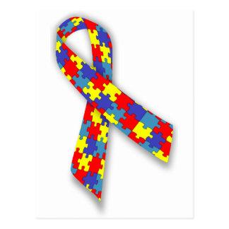 Carte Postale cadeaux d'autisme