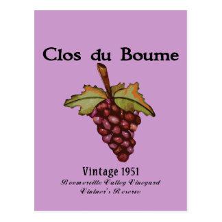 Carte Postale Cadeaux de baby boomer, cru 1951