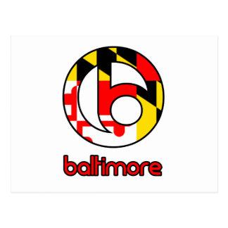 Carte Postale Cadeaux de coutume de Baltimore