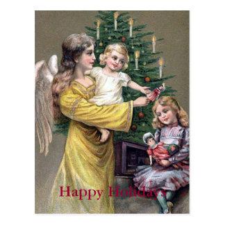 """Carte Postale """"Cadeaux de Noël """""""