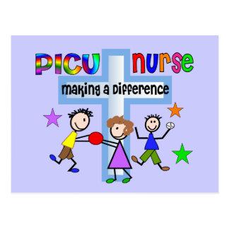 Carte Postale Cadeaux d'infirmière de PICU