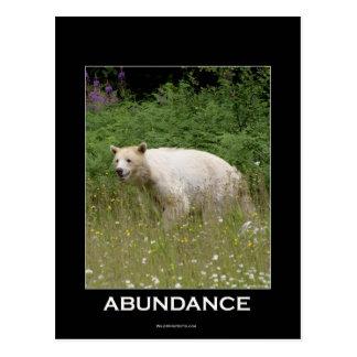 Carte Postale Cadeaux d'ours d'esprit
