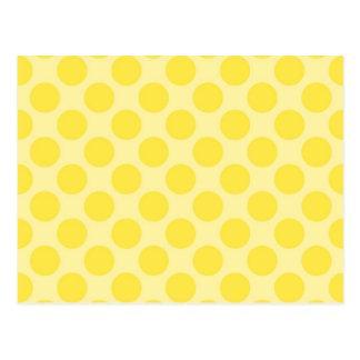 Carte Postale Cadeaux jaunes à la mode d'amusement d'agrume de