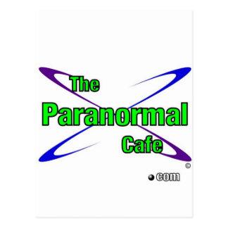 Carte Postale Café paranormal