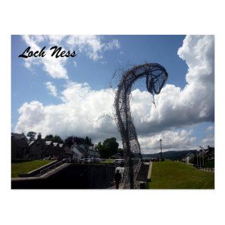 Carte Postale cage de Loch Ness