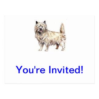Carte Postale Cairn Terrier