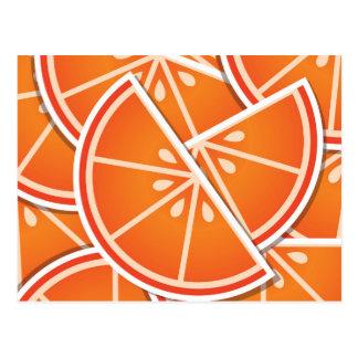 Carte Postale Cales géniales d'orange sanguine