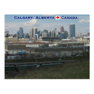 Carte Postale Calgary Alberta