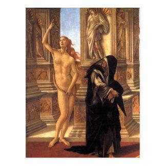 Carte Postale Calomnie par William-Adolphe Bouguereau