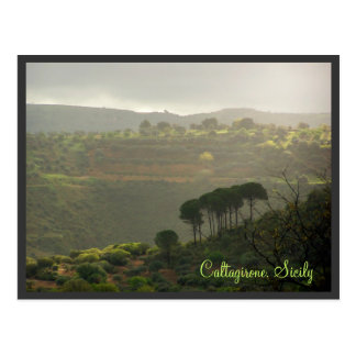 Carte Postale Caltagirone. La Sicile