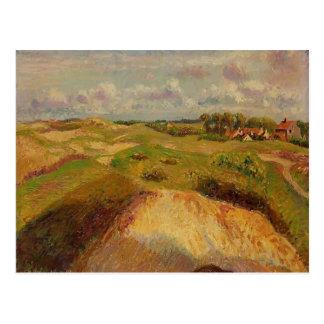 Carte Postale Camille Pissarro- les dunes chez Knocke, Belgique