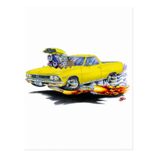 Carte Postale Camion 1966 jaune d'EL Camino