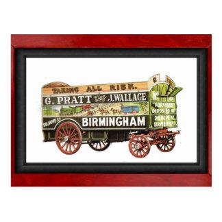 Carte Postale Camion de déménagement, Grande-Bretagne