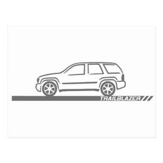 Carte Postale Camion de gris de pionnier
