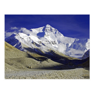 Carte Postale Camp de base Thibet d'Everest