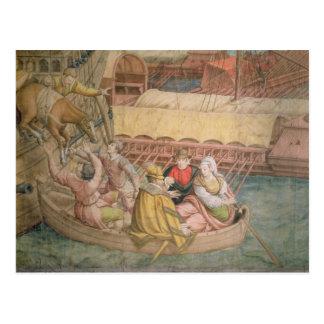 Carte Postale Campagne d'empereur Charles V contre