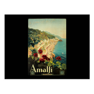 Carte Postale Campanie Italie de Borgoni Amalfi