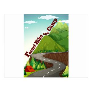 Carte Postale Camper