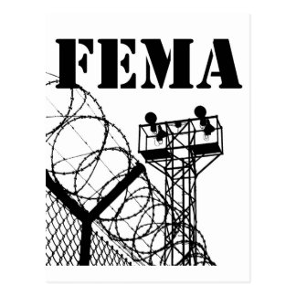 Carte Postale Camps de FEMA