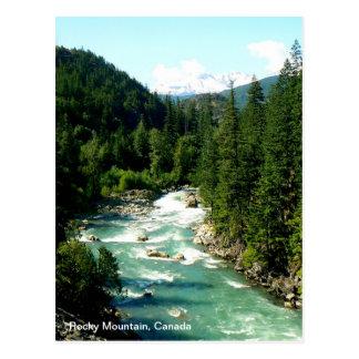 Carte postale canadienne de montagne rocheuse