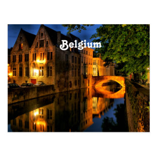 Carte Postale Canal en Belgique