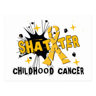 Carte Postale Cancer d'enfance d'éclat
