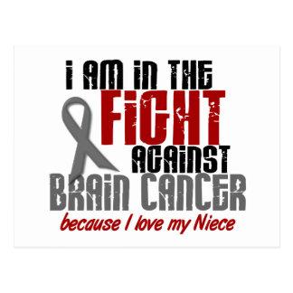 Carte Postale Cancer du cerveau DANS la nièce du COMBAT 1