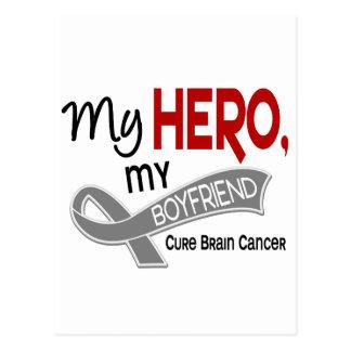 Carte Postale Cancer du cerveau MON HÉROS MON AMI 42