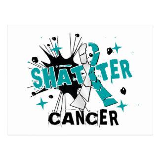 Carte Postale Cancer du col de l'utérus d'éclat