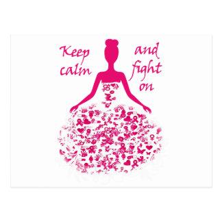Carte Postale cancer du sein